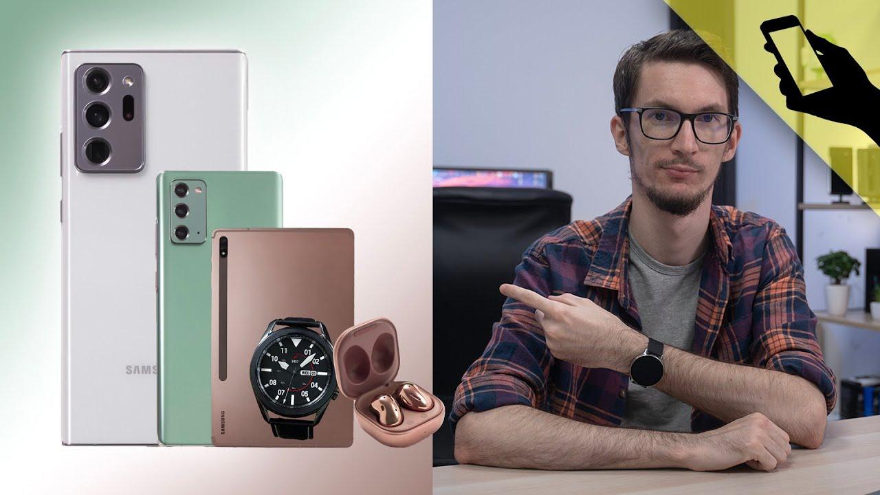 Megjelent a Galaxy Note20 család! | bemutató