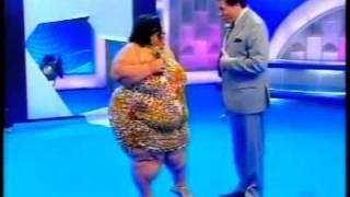رقص سمينه جسم روووعه