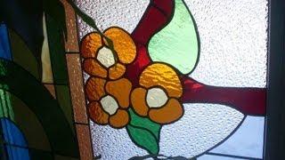 Витражный светильник своими руками(Светильник - важный элемент домашнего декора. И зачастую найти подходящий не так-то просто. Канал «Za Delo»..., 2013-10-10T03:57:27.000Z)