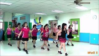 Roer Jou Voete (by Marie Louw & Jeanne de Beer) - line dance (demo & walkthru) = 動動腳 - 排舞(含導跳)