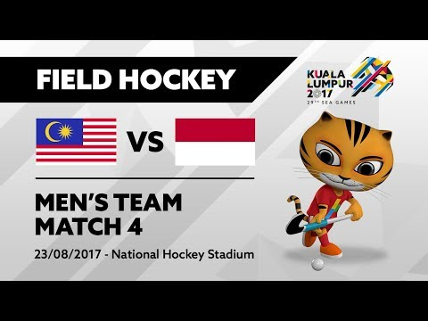 KL2017 29th SEA Games | Men's Field Hockey - MAS 🇲🇾 vs INA 🇮🇩 | 23/08/2017