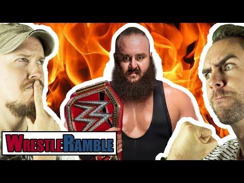 Braun Strowman's First WWE Universal Championship WIN! FANTASY BOOKING WARFARE!   WrestleRamble
