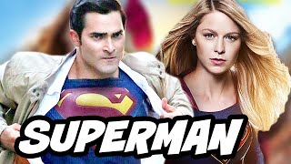 Supergirl Season 2 vs Superman Superboy and Legion of Superheroes