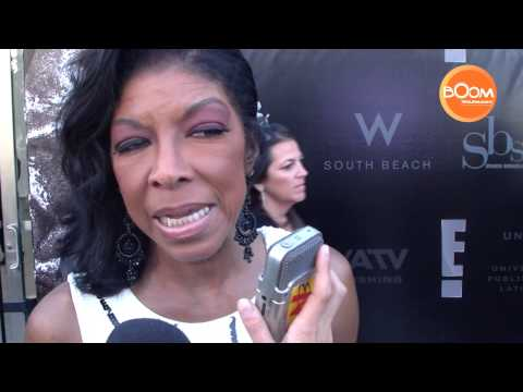 Natalie Cole in Celebrity Carpet Latin Songwriter Hall of Fame 2013
