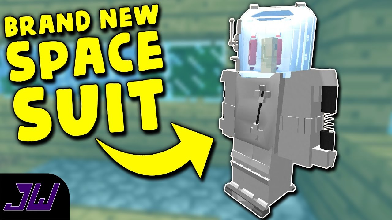 A BRAND NEW SPACE SUIT   Minecraft Galacticraft (Extra Planets) Mod #3