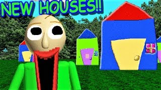 HOUSES ARE ADDED IN BALDI'S BASICS!! | Baldi's Basics MOD: Baldi's Basics but stuff has changed