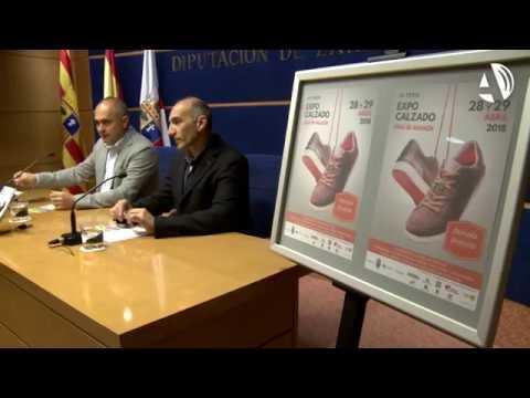 Brea de Aragón luce su producto estrella en Expo Calzado - YouTube abbdf2e3cd98