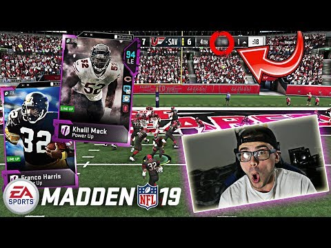 NEW KHALIL MACK AND FRANCO HARRIS! GOING AGAINST MORPHED MONSTERS! Madden 19 Ultimate Team Gameplay