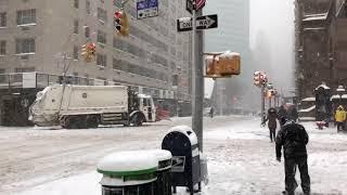 Bomb Cyclone New York City Bombogenesis 2018