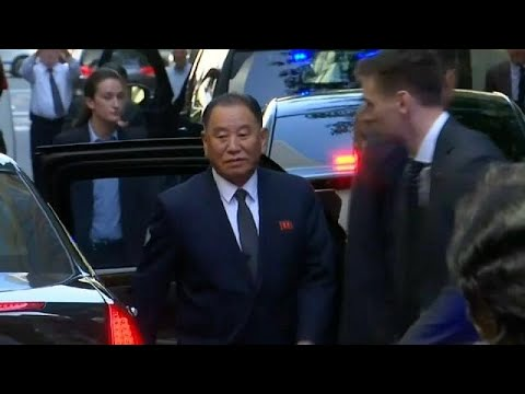 Top North Korean official holds talks in New York