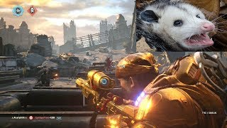 POSSUMS WILL SOON BE EXTINCT! (Gears of War 4) Guardian Multiplayer Gameplay on Impact!
