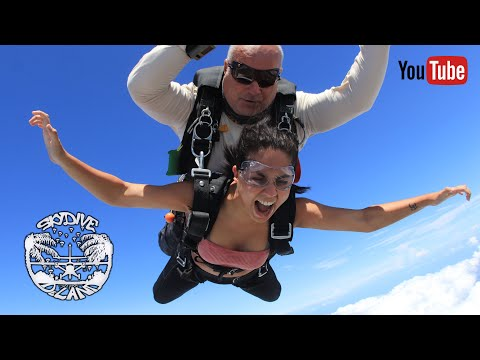 Download Madhari Mooljee loved her first skydive!