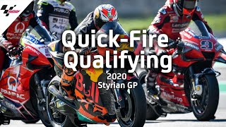 Quick - Fire Qualifying | 2020 Styrian GP
