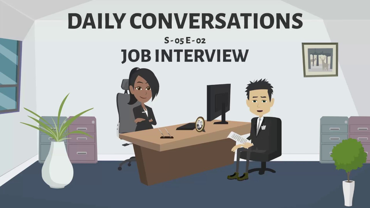 JOB INTERVIEW | Learn English Conversation - 02 (Season ...