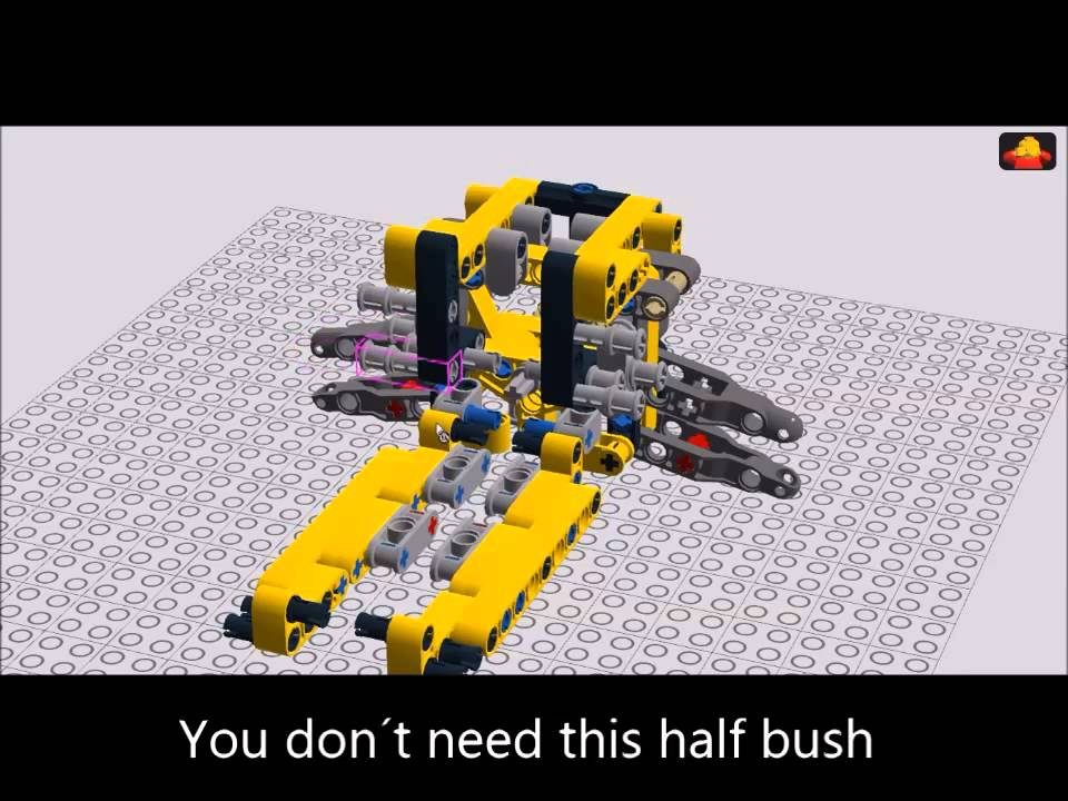 Lego Technic Building Instructions For Full Suspended Outdoor Racer