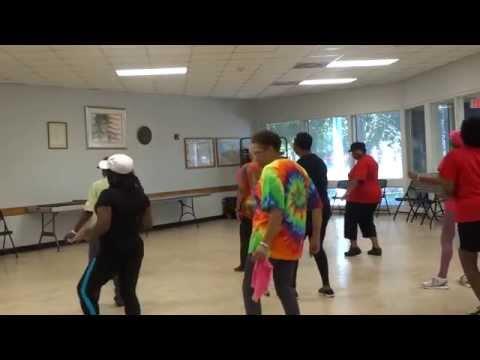 "Line dance ""Casper"" Pimp Walk"