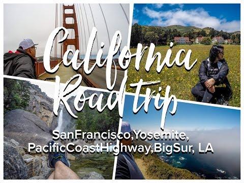 California Road Trip - San Francisco,Yosemite,Pacific Coast Highway,Bigsur, LA