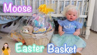 Reborn Toddler Laura Opens Moose Toys Easter Basket!   Kelli Maple