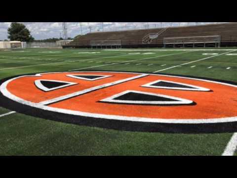 Burkburnett's new turf football field