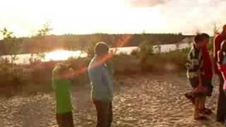 Volleyballen op camping de Papaver