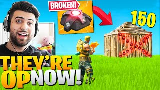 Epic Accidentally *BROKE* Proximity Mines In The New Update! (Fortnite Battle Royale)