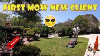 Honda Lawn Mowing Stihl Trimmer Leaf Blower