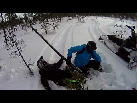 Niemisel powder hunt - Yamaha RX Warrior -07