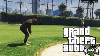 Grand Theft Auto V Online | ANDY SI BERCEA JOACA GOLF | #125 w/Andy