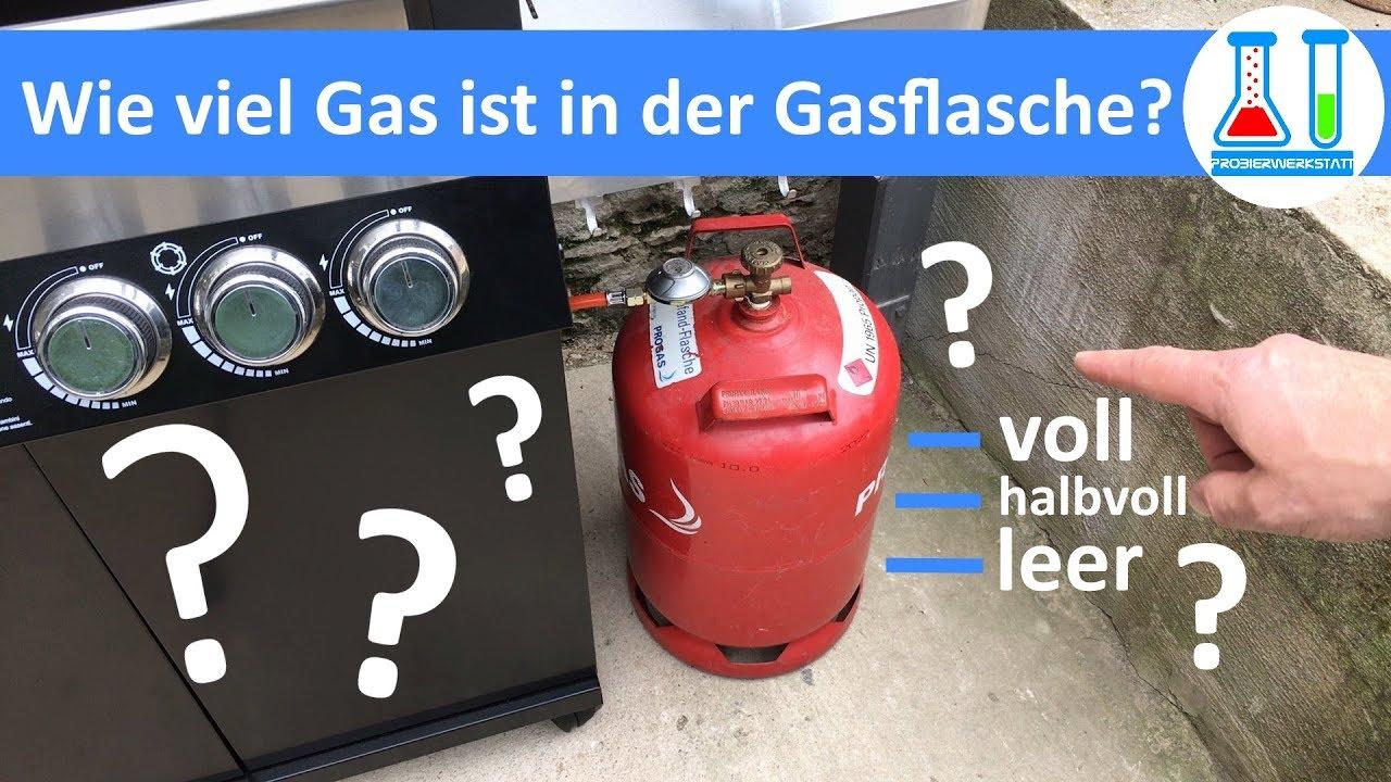 Gasflasche Für Gasgrill Hornbach : Füllstand der gasflasche in sekunden ermitteln ganz einfach und