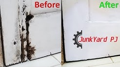 Simple way to repair a water damaged wooden door