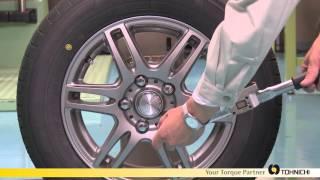 Tohnichi new item FD, data transfer torque wrench