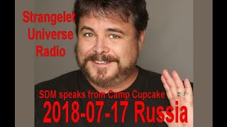 2018-07-16 Strangelet Universe SDM Talks on Russia