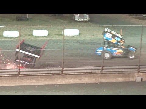 360 Sprints MAIN 7–3-17 Petaluma Speedway