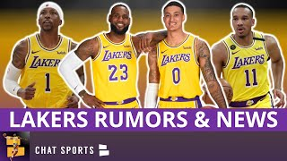Lakers rumors on kentavious caldwell-pope and kyle kuzma continue to grow amid contract discussions. lebron james is set play for the los angeles w...
