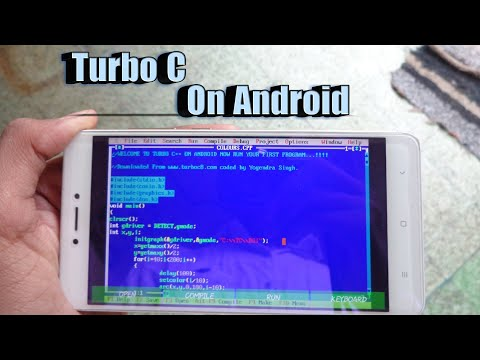Hindi | Turbo C/C++ For Android ?? How To Download And Install On Any Android Device Free Tutorial
