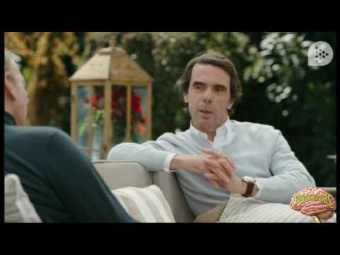 Aznar en Mi casa es la tuya...repugnante.