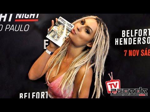 TV Pegada #0003 - UFC SP - Belfort vs Henderson 3 - Media Day