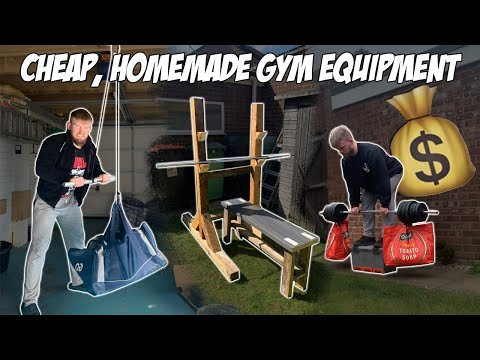 How To BUILD A BASIC HOME GYM For Less Than £100 | Build MUSCLE At HOME.