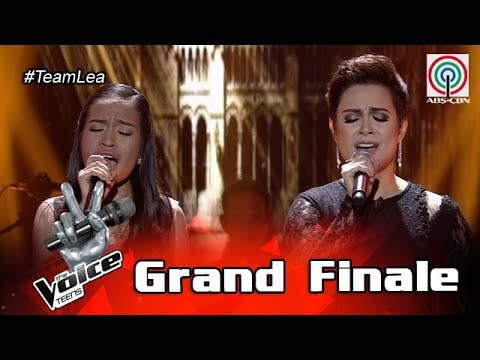 The Voice Teens Philippines Grand Finale: Coach Lea & Mica - The Prayer