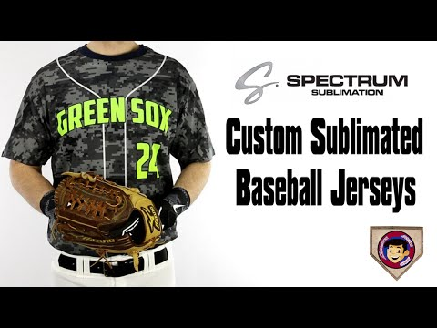 Sublimated Baseball Jerseys | Spectrum Custom - Homegrown Sp