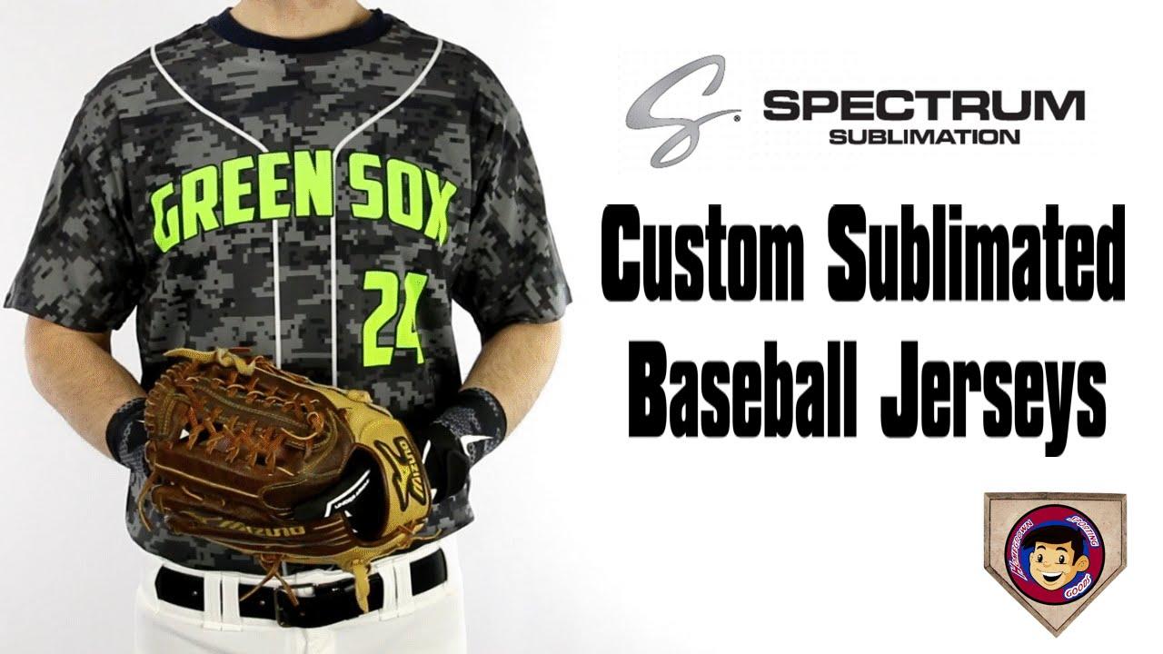 64baca234704 Sublimated Baseball Jerseys