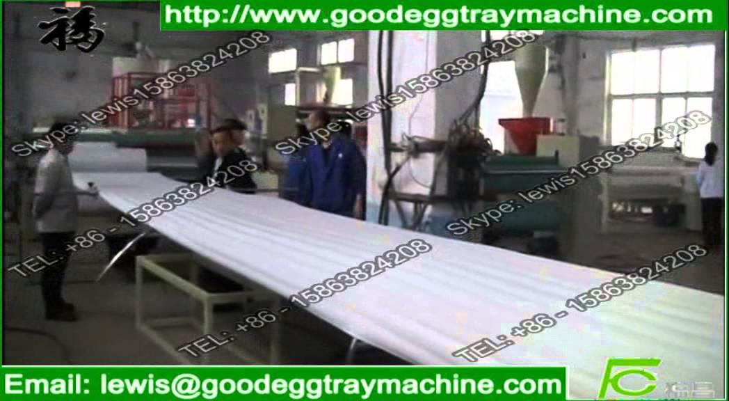Foam Flooring Underlay Epe Series Making Machinery Youtube