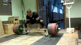 350 kg x 6 Deadlift Rauno Heinla