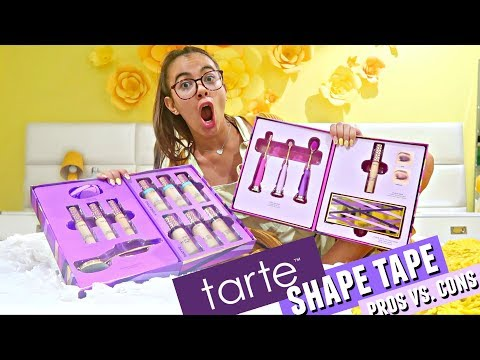 $39 TARTE SHAPE TAPE FOUNDATION? REALLY? Pros Vs. Cons