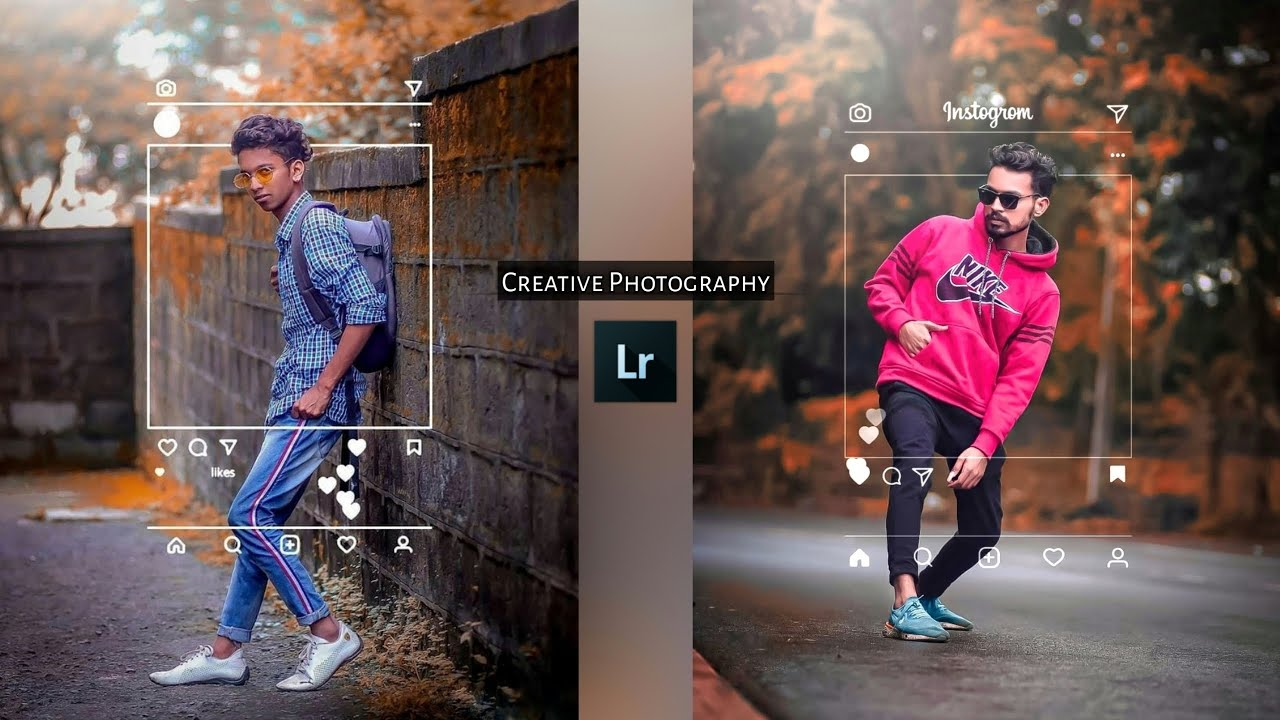 Instagram Viral Creativity Photography Tricks In Lightroom | New Lightroom Editing Tutorial