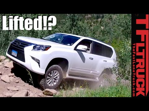 Lexus Gx460 Takes On The Cliffhanger 2 0 Extreme Off Road Review