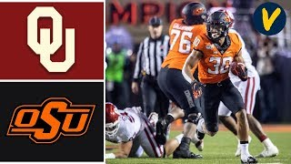 #7 Oklahoma vs #21 Oklahoma State Highlights | Week 14 | College Football 2019
