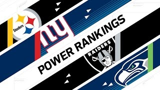 Week 15  Power Rankings | NFL Now