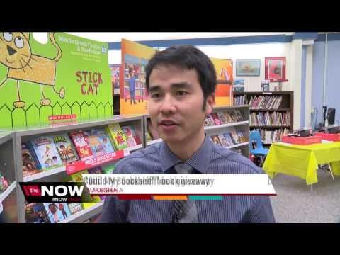 'Build My Bookshelf' at Hawthorne School