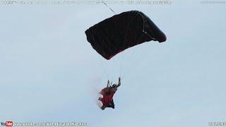 日米親善デー (フレンドシップデー) 2016 Part10/20「ペンバートン・エアロスポーツ スカイダイビング展示 2回目(午後)」 Friendship Day,Skydiving